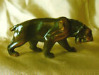 Copper on Metal Lioness Figurine Well Detailed 3