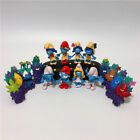 Smurfs The lost Village Papa Smurfette Clumsy Action Figures Play Set Toy-16pcs