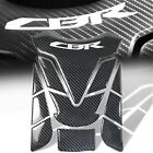 Genuine Real Carbon Fiber Customize Fuel/Gas Tank Pad Decal/Logo Sticker for CBR