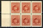 1942 3 254aiGIFT BOOKLET 4 KING GEORGE VI WAR ISSUE BOOKLET PANES VFNH