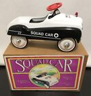 1993 Limited Edition POLICE DEPARTMENT PEDAL SQUAD CAR 11 x 5 13 Scale Model
