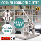 corner rounder cutter 2 dies r6 r10 corner cutter with paper holding device
