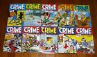 Crime Does Not Pay Archives Volumes 1 10 SEALED Dark Horse Comics hardcovers