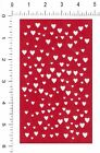 1 HEARTS BACKGROUND die cuts ur color choice