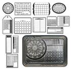 A Year to Remember Black and White Maya Road Sheers 36 Pieces NEW