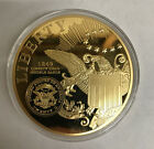 2014 American Mint Proof Large 1849 Liberty Head Double Eagle Classic Gold Coin
