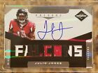JULIO JONES 2011 Limited #205 ROOKIE 3 CLR PATCH AUTO # 299 RPA RC! SWEET PATCH!