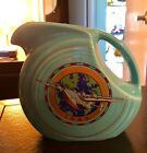 fiesta turquoise 1943 juice disk pitcher HLCCA exclusive