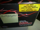 RARE AUTOGRAPHED T SCHUMACHER ARMYS N 613 NHRA DRAGSTER 1 24 DIE CAST  WOW