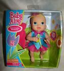 Hasbro Baby Alive Kicks & Cuddles Newborn; Blonde Hair Blue Eyes; NIB