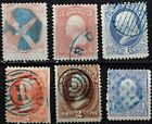 VARIETY COLLECTION OF GORGEOUS 19TH CENTURY ISSUES W BLUE FANCY CANCELS AL48