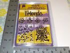 PROVOCRAFT CLEAR IMPRESSIONS FRIENDS FLOWERS ACRYLIC STAMPS NEW A7232