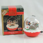 Hallmark 1992 Forest Frolics 4 Keepsake Ornament Christmas Light Motion