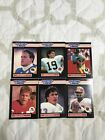 1989 Starting Lineup Football Dan Marino + 5 Other QBs kenner NFL