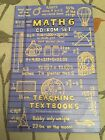 Teaching Textbooks Math 6 CD ROM set 4 Discs