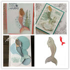 Metal Cutting Dies Mermaid Stencils Scrapbooking Album Embossing DIY Card Making