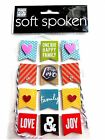 One Big Happy Family Banners Soft Spoken MAMBI 3D Stickers