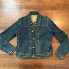 Vintage Repro Loomstate 1920s Style Denim Jean Jacket Indigo