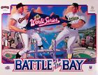 1989 Battle of the Bay SF Giants  Oakland As Poster