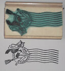 Scare Mail Postmark with Witch rubber stamp by Amazing Arts Halloween beautiful