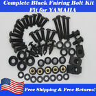 US Fairing Bolts Kit Fit for YAMAHA YZF R6 YZFR1 1998-2014 YZF6S 2002-2008 03-07