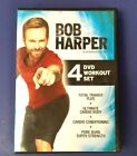 Bob Harper Total Trainer Plus 4 DVD Workout Set with Strength Cardio Exercise