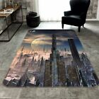 3D Building City 424 Non Slip Rug Mat Room Mat Quality Elegant Photo Carpet US
