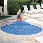 15 mil 10 ft x 10 ft Floating Solar Spa and Hot Tub Cover Blanket