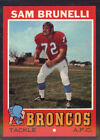 1971 Topps Football Cards 12