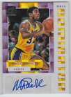 2017-18 Panini Donruss Los Angels Lakers Magic Johnson Hall Dominator Auto 79 99