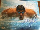 Michael Phelps Signed 11x14 Photo PSA DNA Team USA Gold