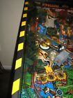 Jurassic Park, Escape From the Lost World Pinball Playfield Glass Graphics