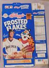 KEN GRIFFEY Jr KELLOGG'S FROSTED FLAKES CEREAL BOX