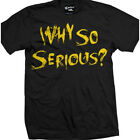 Men's Cartel Ink Why So Serious T-Shirt Black