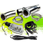 225 57mm ELECTRIC EXHAUST CATBACK CUTOUT E CUT OUT W SWITCH VALVE SYSTEM KIT