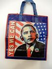 President Barrack Obama Reinforced Vinyl YES WE CAN Shopping Grocery Bag