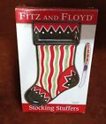 FITZ & FLOYD Stocking Stuffers ~ Section Server w/ Knife ~ FREE SHIPPING