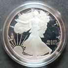 1986 S PROOF AMERICAN EAGLE 1 OUNCE FINE SILVER DOLLAR COIN