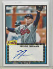 2011 TOPPS LINEAGE 1952 AUTOGRAPH 52A-FF, FREDDIE FREEMAN ROOKIE