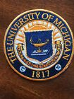 University of Michigan 1817 Embroidered Iron On Patch 3