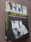 John Creasey THE THEFT OF MAGNA CARTA crime novel hardcover 1st first edition