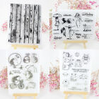 Transparent Silicone Clear Stamps Rubber Seal for DIY Scrapbooking Card Making