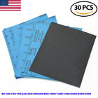 Wet Dry Sandpaper Sheets 9 X11 80-3000grit For Metal Sanding Automotive Polish