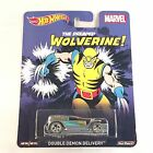 Hot Wheels 2015 Pop Culture MARVEL WOLVERINE - DOUBLE DEMON DELIVERY DIECAST CAR
