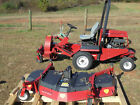 2010 TORO GROUNDSMASTER 328D W LEAF BLOWER 72 RECYCLER DECK 2004 HOURS