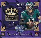 2017 Panini Crown Royale Football NFL Trading Cards New, Sealed 20ct Retail Box