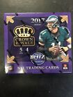 2017 PANINI CROWN ROYALE FOOTBALL FACTORY SEALED RETAIL BOX 1 AUTO 1 MEMORABILIA