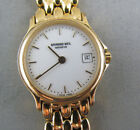 Raymond Weil Geneve 5368 Gold Tone Stainless Ladies Watch with White Dial