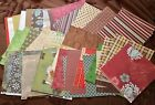varied mixed scrapbook paper lot collection 12 x 12 121 sheets plus extras