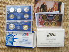 2007 PROOF SET WITH STATE QUARTERS PRESIDENTIAL 1 COINS 14 TOTAL COINS